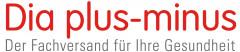 Dia plus-minus Der Fachversand für Ihre Gesundheit Logo (GPTO, 2020)