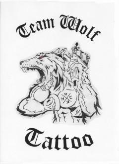 Team Wolf Tattoo Logo (DPMA, 2020)