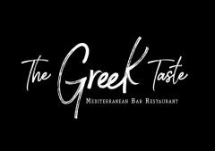 The Greek Tast MEDITERRANEAN BAR RESTAURANT Logo (DPMA, 2020)