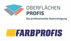 FARBPROFIS OBERFLÄCHEN PROFIS Die professionelle Steinreinigung Logo (DPMA, 2020)