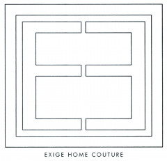 EXIGE HOME COUTURE Logo (DPMA, 2019)