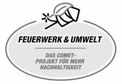 FEUERWERK & UMWELT DAS COMET-PROJEKT FÜR MEHR NACHHALTIGKEIT Logo (GPTO, 2019)
