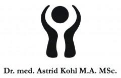 Dr. med. Astrid Kohl M.A. MSc. Logo (DPMA, 2019)