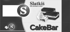 S Slatkis with strawberry cream CakeBar