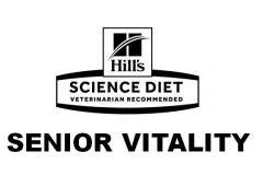 Hill's SCIENCE DIET VETERINARIAN RECOMMENDED SENIOR VITALITY Logo (IGE, 2019)