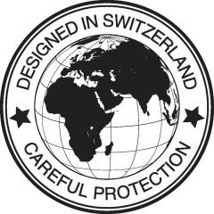 DESIGNED IN SWITZERLAND CAREFUL PROTECTION