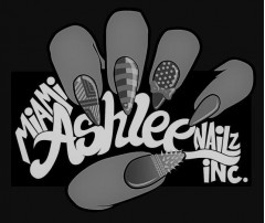 MIAMI ASHLEE NAILZ INC. Logo (USPTO, 2018)